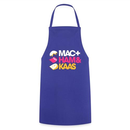 Mac, ham en kaas kookschort. - Keukenschort