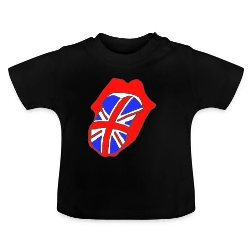 TSHIRT NOIR BEBE LANGUE ANGLAISE - T-shirt Bébé