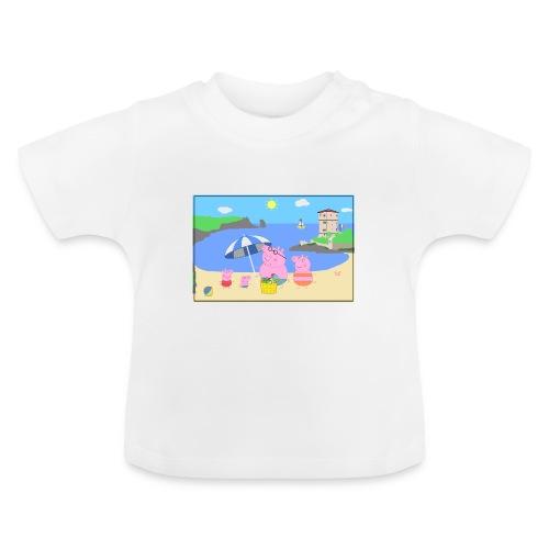 peppa pig isola del giglio campese - Maglietta per neonato