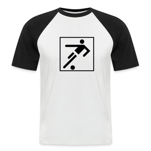 Fußball-Shirt - Männer Baseball-T-Shirt
