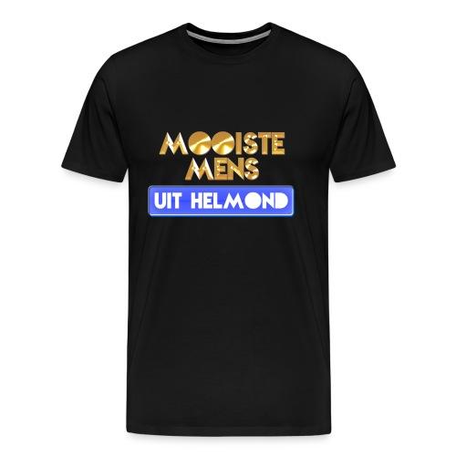 Mooiste mens uit Helmond - Man - Mannen Premium T-shirt