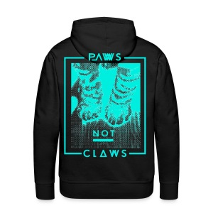 Paws not claws - Men's Premium Hoodie