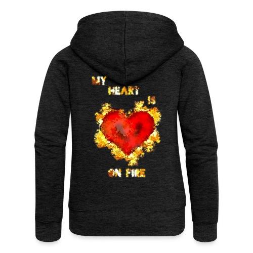My Heart - Naisten Girlie svetaritakki premium