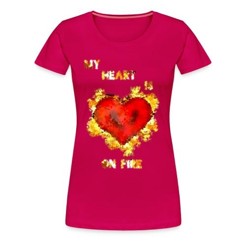 My Heart - Naisten premium t-paita