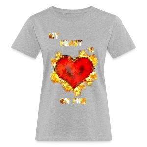My Heart - Naisten luonnonmukainen t-paita