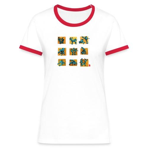 Capo 500+ femme contrast - T-shirt contrasté Femme