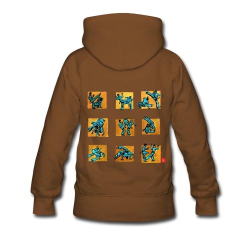 Capo 500+ femme sweat cap - Sweat-shirt à capuche Premium pour femmes