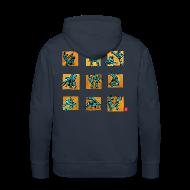 Sweat-shirts ~ Sweat-shirt à capuche Premium pour hommes ~ Capo 500+ homme sweat cap