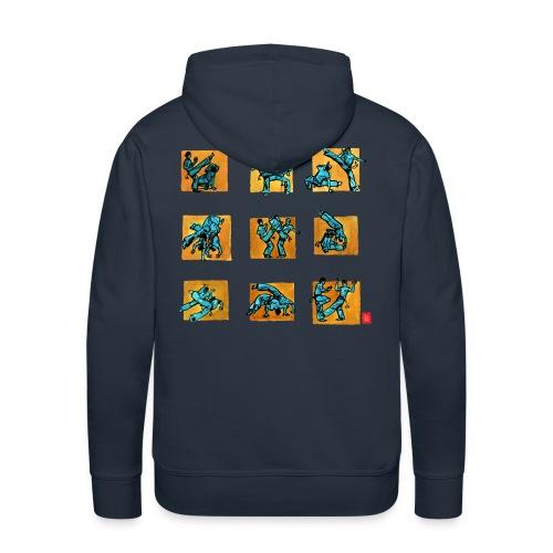 Capo 500+ homme sweat cap - Sweat-shirt à capuche Premium pour hommes