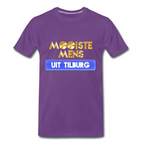Mooiste mens uit Tilburg - Man - Mannen Premium T-shirt