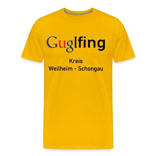 Guglshirt Männer bunt - Männer Premium T-Shirt