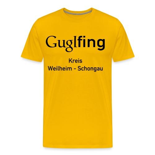 Guglshirt Männer black - Männer Premium T-Shirt