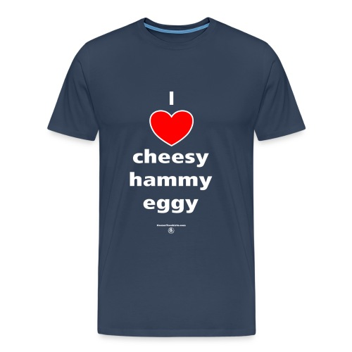 Cheesy hammy eggy - Men's Premium T-Shirt