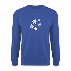 Schneeflocken - Männer Pullover