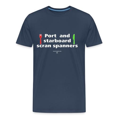 Scran spanners - Men's Premium T-Shirt