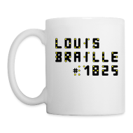Tassen & Zubehör ~ Tasse ~ Louis-Braille-1825-Tasse