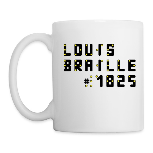 Louis-Braille-1825-Tasse - Tasse