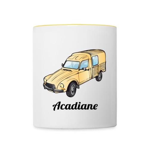 Mug Acadiane beige - Mug contrasté