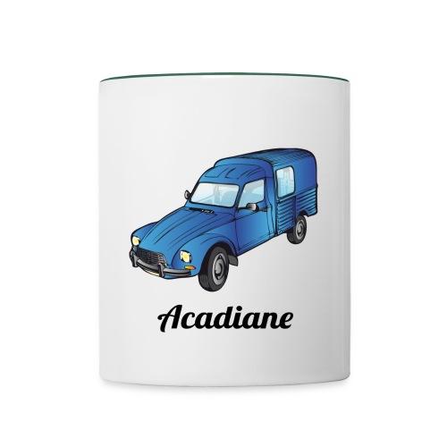 Mug Acadiane bleue - Mug contrasté
