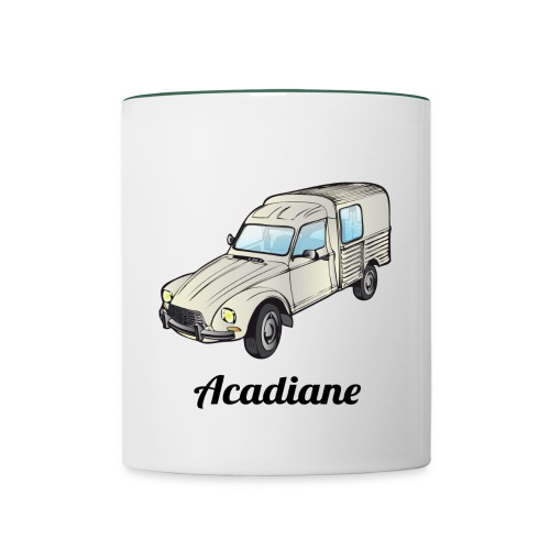 Mug Acadiane blanche - Mug contrasté