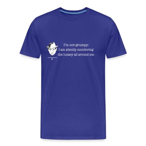 Silently monitoring - Men's Premium T-Shirt