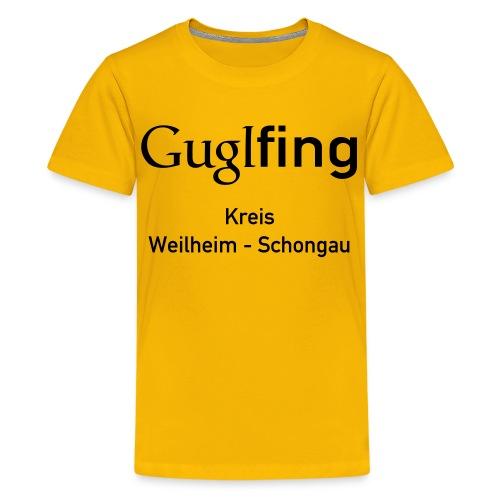 Guglshirt Kinder Black - Teenager Premium T-Shirt