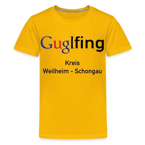 Guglshirt Kinder Bunt - Teenager Premium T-Shirt