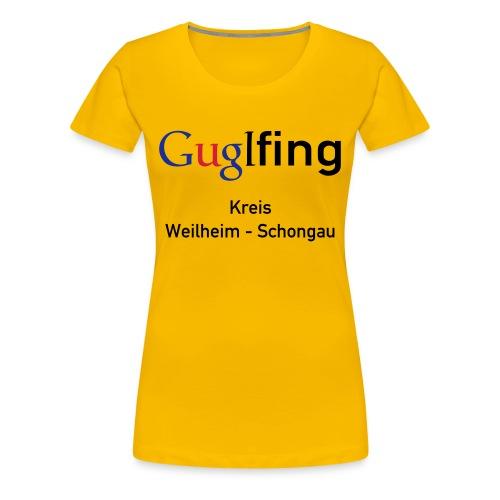 Guglshirt Frauen Bunt - Frauen Premium T-Shirt