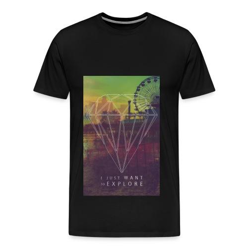 T-Shirt Hipstered - Männer Premium T-Shirt