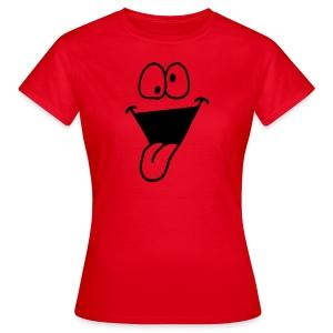 Funny Face 1 (Flexible Farbe) - Women's T-Shirt