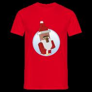 T-Shirts ~ Men's T-Shirt ~ Santa-Villager - Mens