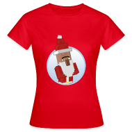 T-Shirts ~ Women's T-Shirt ~ Santa-Villager - Womens
