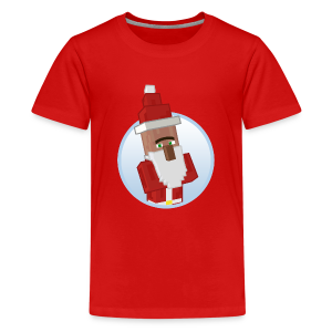Santa-Villager - Teens - Teenage Premium T-Shirt