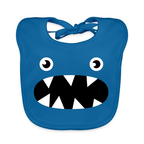 Phillip the little monster - Baby Organic Bib