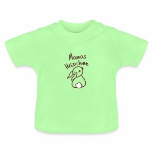Hase, Mama, Weihnachten, Geschenk, Winter - Baby T-Shirt