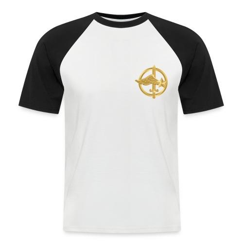 Commando de l'Air baseball T-shirt - T-shirt baseball manches courtes Homme