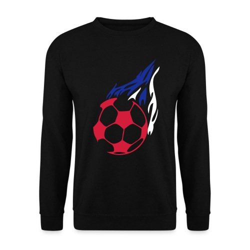 Mens Sweatshirt By Russell with Red/White/Blue Football Print - Men's Sweatshirt