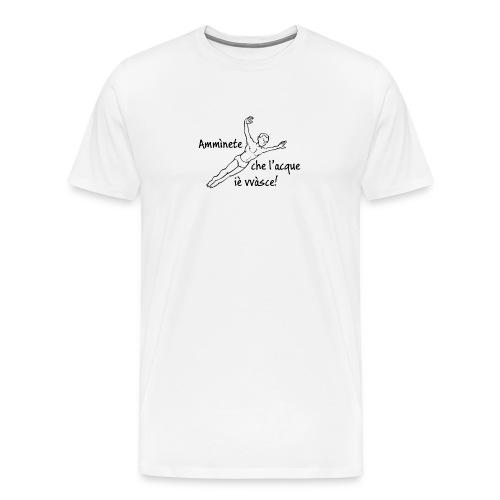 Amminete t-shirt bianca - Maglietta Premium da uomo