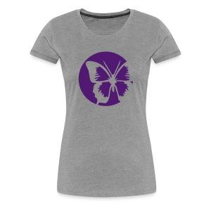 Butterfly design T-shirt - Women's Premium T-Shirt