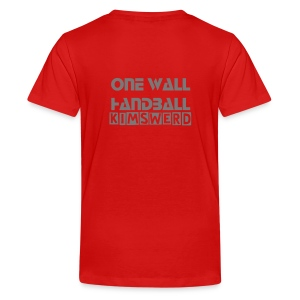 Jeugdshirt One Wall Handball Kimswerd - Teenager Premium T-shirt