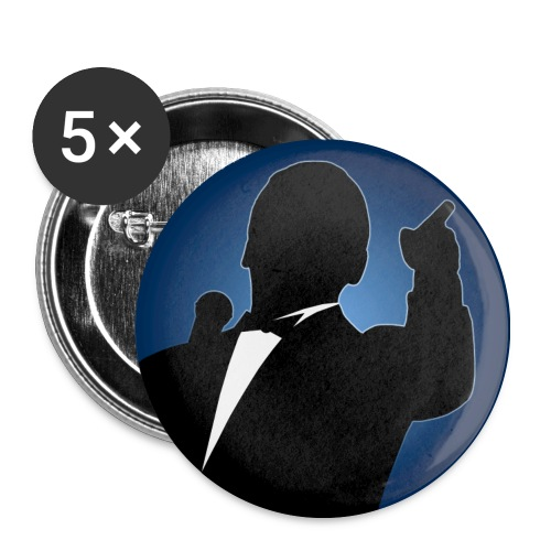 Main Event Buttons 32mm - Buttons mittel 32 mm (5er Pack)