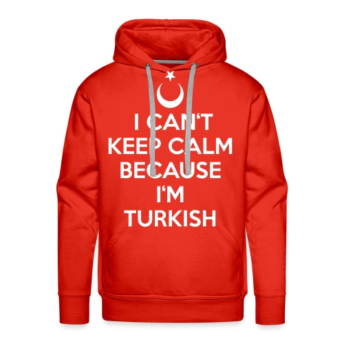 Can't Keep Calm - Männer Premium Hoodie