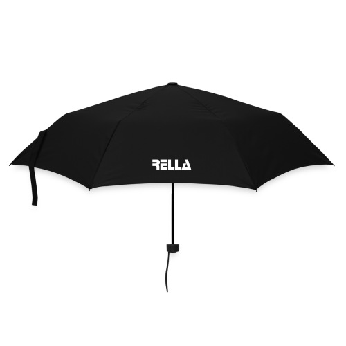 Regenschirm (klein) - An umbrella to save the day. Keep your threads dry when you don't want them wet, and shelter your shopping from getting drenched. And this little specimen is a very handy one at that – when furled it measures a mere 10 inches so that you can easily stash it away in any bag. Comes with slipcover. 100% polyester.