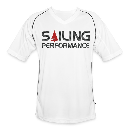 Carbon Sport Shirt - 'Sailing Performance' - Männer Fußball-Trikot