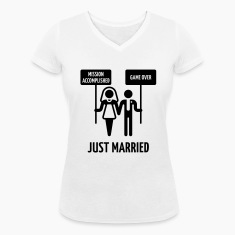Just Married – Mission Accomplished – Game Over T-Shirts