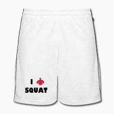 I love squat Pantaloni & Shorts