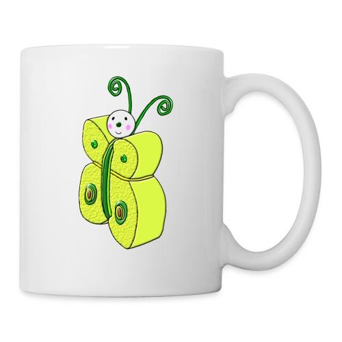 Pompon - Mug blanc