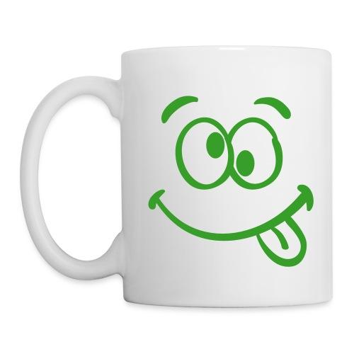 La Tasse Grimace !  - Mug blanc