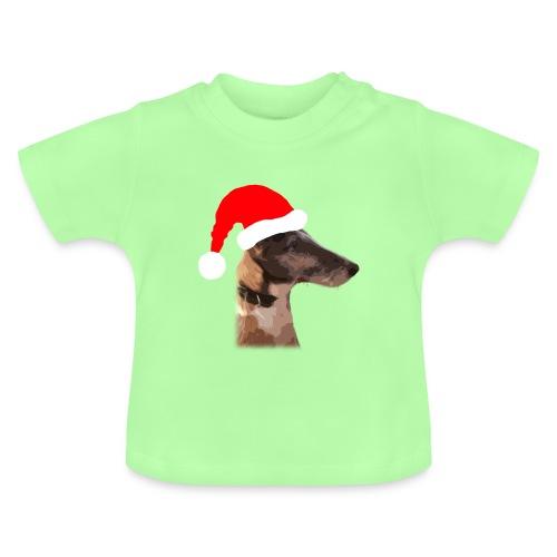 Weihnachtshund - Baby T-Shirt