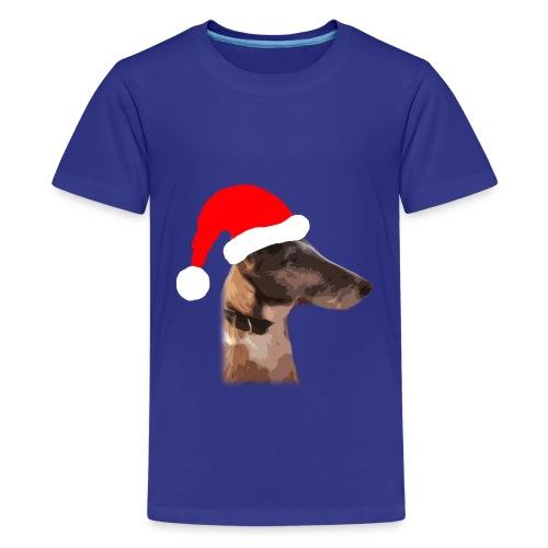 Weihnachtshund - Teenager Premium T-Shirt